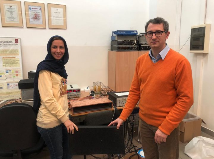 ESR 14 Marzieh Hosseini, Secondment at TUL, Nov. 2018
